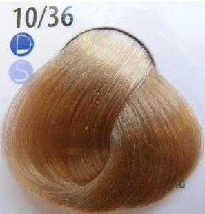 Estel De Luxe Крем-краска 10/36 светлый блондин золотисто-фиолетовый