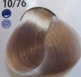 Estel De Luxe Крем-краска 10/76 Коричнево-фиолетовый светлый блондин