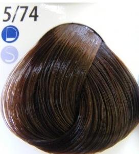 Estel De Luxe Крем-краска 5/74 Коричнево-медный светлый шатен