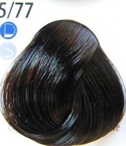 Estel De Luxe Крем-краска 5/77 Интенсивный коричневый светлый шатен