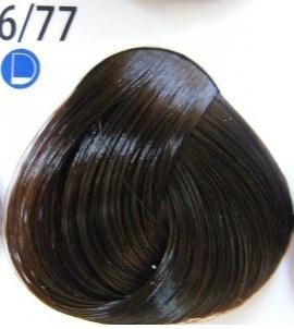 Estel De Luxe Крем-краска 6/77 Интенсивный коричневый темно-русый