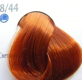 Estel Professional De Luxe Крем-краска 8/44 Интенсивный медный светло-русый