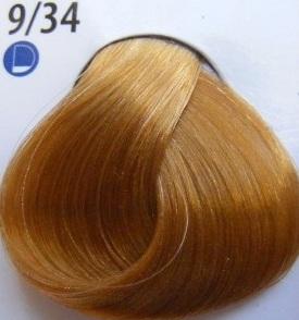 Estel Professional De Luxe Крем-краска 9/34 Золотисто-медный блондин